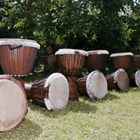 Djembe Trommeln bei https://www.klang-bild.co.at